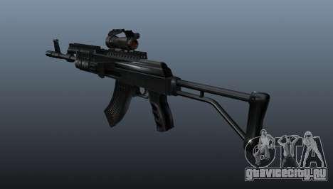 Автомат AK Sopmod 4 для GTA 4 второй скриншот