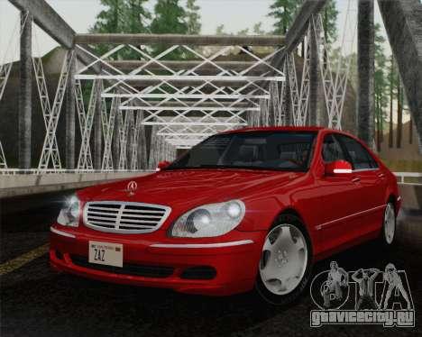 Mercedes-Benz S600 Biturbo 2003 для GTA San Andreas