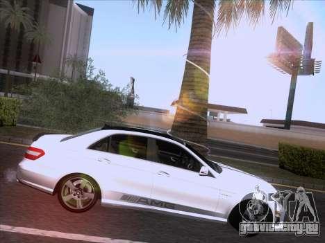 Mercedes-Benz E63 AMG 2011 Special Edition для GTA San Andreas вид сбоку
