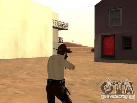 Rick Grimes для GTA San Andreas пятый скриншот