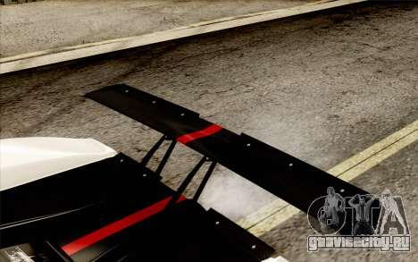 Pagani Zonda Cinque для GTA San Andreas салон