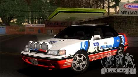 Subaru Legacy 2.0 RS (BC) 1989 для GTA San Andreas вид сбоку