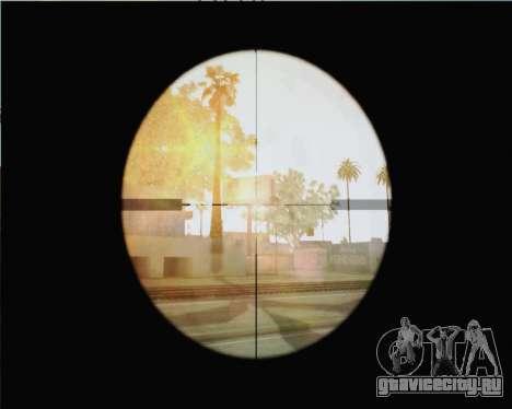 Снайперская винтовка из Call of Duty MW2 для GTA San Andreas третий скриншот