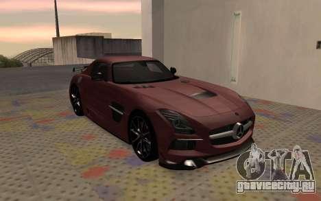 Mercedes-Benz SLS AMG 2013 Black Series для GTA San Andreas