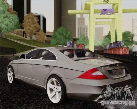 Mercedes-Benz CLS500 для GTA San Andreas вид слева