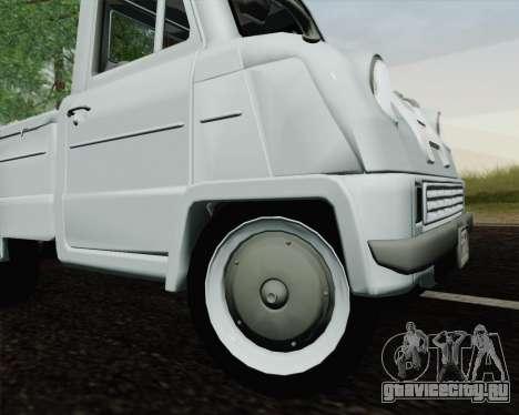 Honda T 360 для GTA San Andreas вид сзади