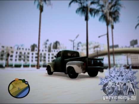 Ford Frieghter 1949 для GTA San Andreas вид слева