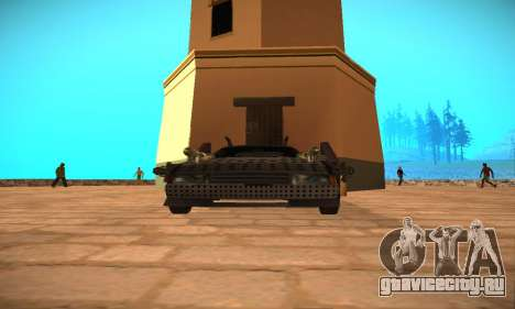 Cheetah Zomby Apocalypse для GTA San Andreas вид справа