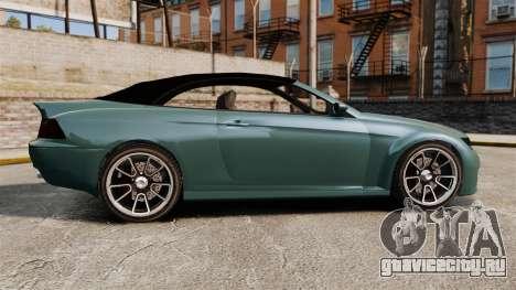 GTA V Zion XS Cabrio для GTA 4 вид слева