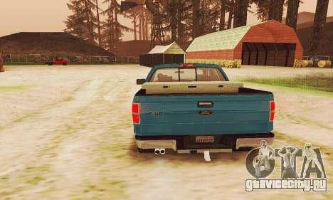 Ford F150 XLT Supercrew Trim для GTA San Andreas вид сбоку