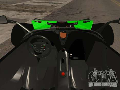 KTM Xbow R для GTA San Andreas вид сзади