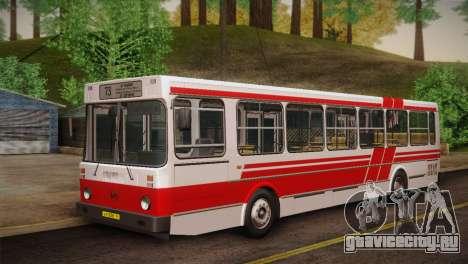 ЛиАЗ 5256.00 Скин-пак 2 для GTA San Andreas вид слева