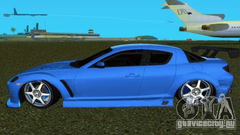 Mazda RX8 Type 1 для GTA Vice City вид сзади