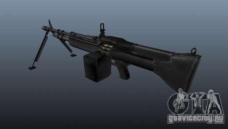 Единый пулемёт M60 для GTA 4 второй скриншот