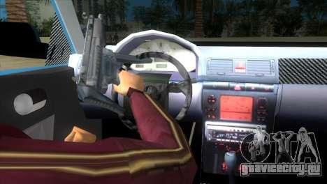 Seat Ibiza GT для GTA Vice City вид сзади слева