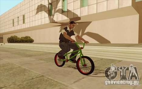 BMX для GTA San Andreas вид сзади