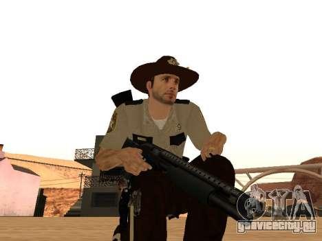 Rick Grimes для GTA San Andreas шестой скриншот