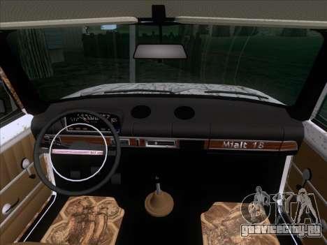 ВАЗ 21011 Дачная для GTA San Andreas вид сбоку