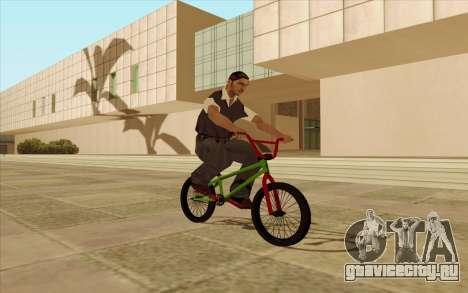BMX для GTA San Andreas колёса