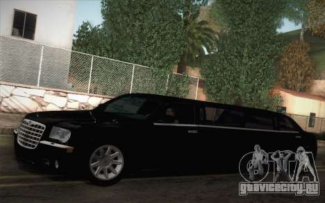 Chrysler 300C Limo 2007 для GTA San Andreas вид слева