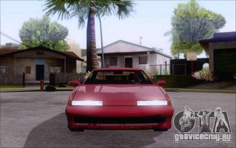 Uranus Fix для GTA San Andreas вид сзади слева