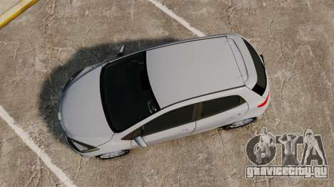 Mazda 2 для GTA 4 вид справа