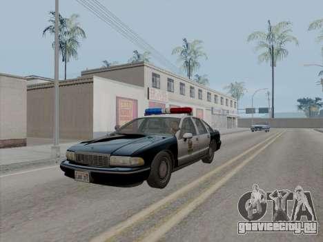 Chevrolet Caprice LAPD 1991 [V2] для GTA San Andreas