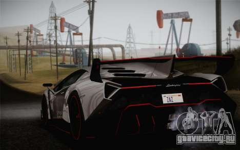 Lamborghini Veneno LP750-4 2013 для GTA San Andreas вид слева