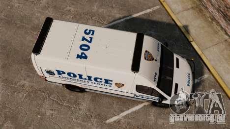 Mercedes-Benz Sprinter 3500 Emergency Response для GTA 4 вид справа