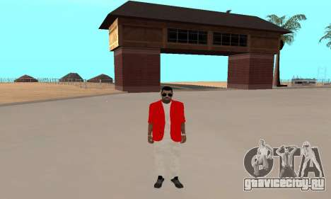 Kaney West для GTA San Andreas третий скриншот
