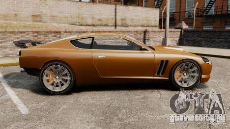 Super GT Ultra для GTA 4 вид слева