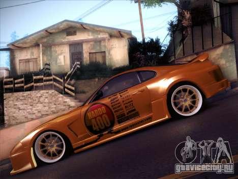 Toyota Supra Top Secret V12 для GTA San Andreas вид сбоку