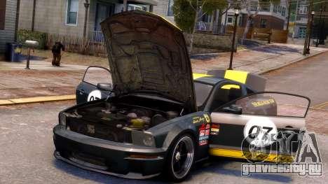 Shelby Terlingua Mustang для GTA 4 салон