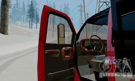 GMC C4500 Topkick для GTA San Andreas вид сзади