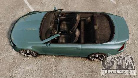GTA V Zion XS Cabrio для GTA 4 вид справа