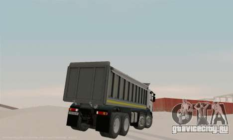 Scania P420 для GTA San Andreas вид справа