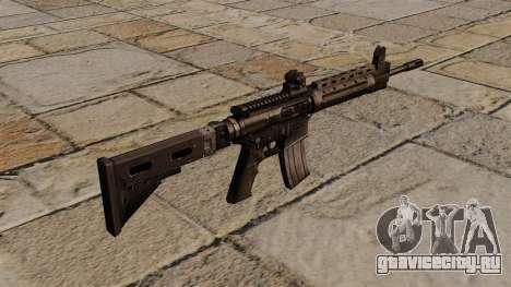 Автомат LR-300 для GTA 4 второй скриншот
