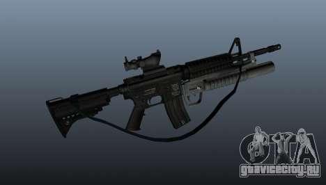 Автоматический карабин M4A1 v2 для GTA 4 третий скриншот