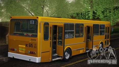 ЛиАЗ 5256.00 Скин-пак 5 для GTA San Andreas вид сбоку