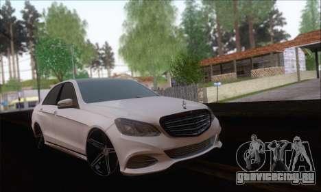 Mercedes-Benz W212 AMG для GTA San Andreas