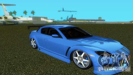 Mazda RX8 Type 1 для GTA Vice City вид снизу