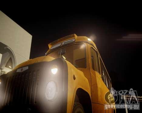 КАвЗ-685 Школьный для GTA 4 вид сзади