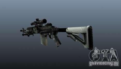 Снайперская винтовка M21 Mk14 v3 для GTA 4 второй скриншот