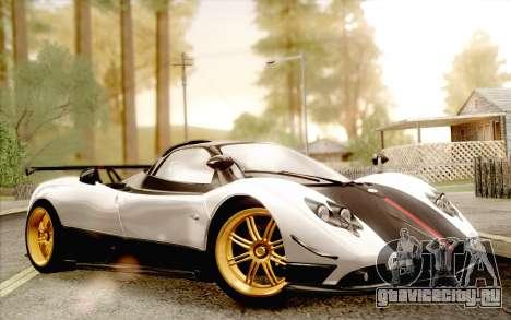 Pagani Zonda Cinque для GTA San Andreas вид справа