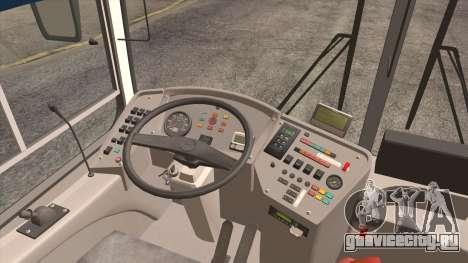 ЛиАЗ 5256.57 2007 для GTA San Andreas вид изнутри