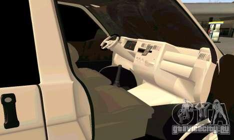 Volkswagen T4 для GTA San Andreas вид справа