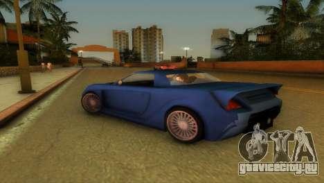 Toyota MR-S Veilside Hardtop для GTA Vice City вид сзади