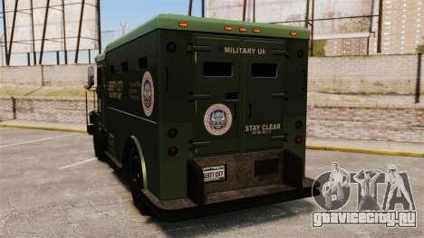 Military Enforcer для GTA 4 вид сзади слева