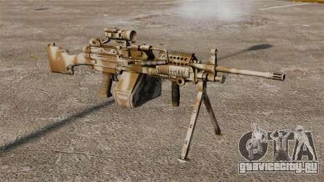 Лёгкий пулемёт Mk.48 для GTA 4