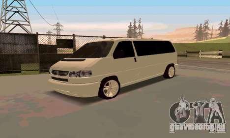 Volkswagen T4 для GTA San Andreas